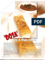 Food Review - Dosa Gets A Make-Over!!!