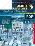 IEA, Energy-Efficient Lighting Policy, 2006
