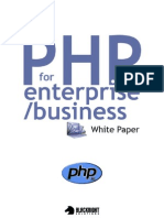 PHP for Enterprise/Business Whitepaper: