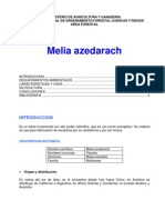 GUÍA  TÉCNICA  DEL  PARAÍSO   (Melia azedarach)