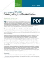 USAID/Asia, CFL Quality in Asia, Policy Brief, 10-2009