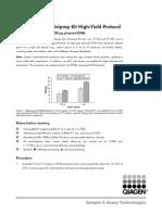 High Yield Miniprep Protocol