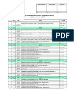 Training Schedule for New Comer-4 11