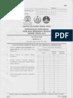Mathematics 2 (Perak's PMR Trial 2012)