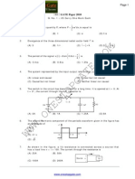 GATE Electrical Engineering Sample Paper 2010