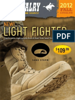 U. S. Cavalry Fall 2012 Catalog • Exclusive Sand Storm Combat Boots