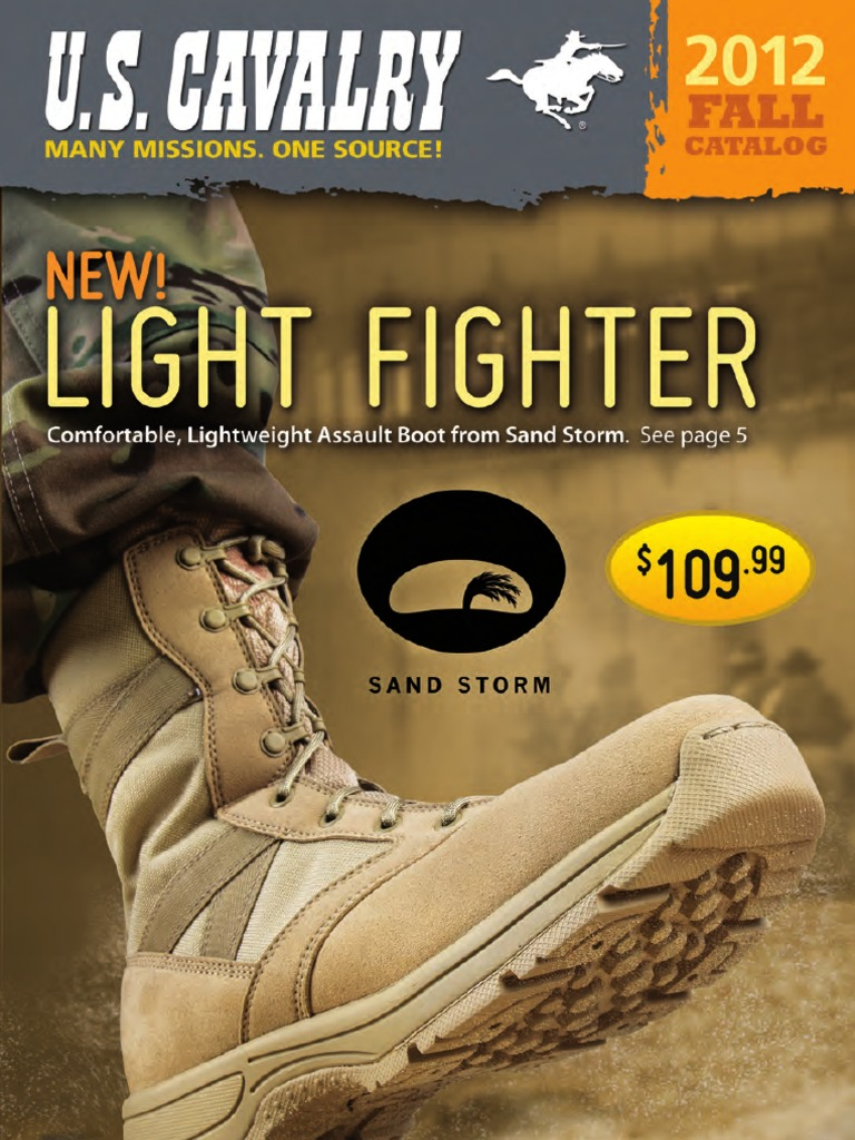 U. S. Cavalry Fall 2012 Catalog </p>                     </div>   <!--bof Product URL --> <!--eof Product URL --> <!--bof Quantity Discounts table --> <!--eof Quantity Discounts table --> </div>                        </dd> <dt class=