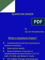 Quantum Eraser