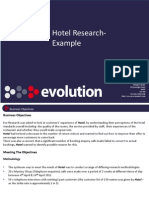 Hotel Example - Evo Research