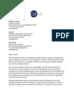 ICAR Statement in Support of Consultatitve Guidelines
