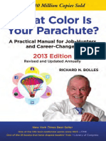 What Color is Your Parachute 2013 by Dick Bolles - Excerpt