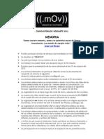 Convocatoria 2012 - AMPLIACIÓN 15 DE OCTUBRE