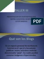 Taller III