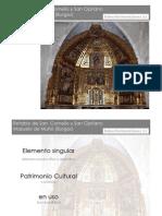 Presentación_Retablo Mayor_Mazuelo de Muñó (Burgos)_Batea_2012