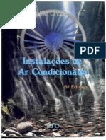 Instalações de Ar Condicionado  - Hélio Creder- Reconhecimento Caractere