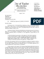 FEMA Denial Letter August 7