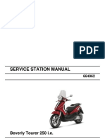 Beverly Tourer 250 i.e - Workshop Manual