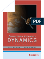 Engineering Mechanics Dynamics, 6th Edition - OCR