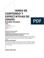 Expectativas de Estudios Sociales 2008