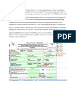 ITR 1 EFiling Document AY12 13