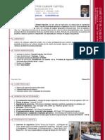 Curriculum Vitae Ing. Jr. Civil - José Camani - Julio 2010