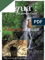 Autun Augustodunum Eau Hydraulique