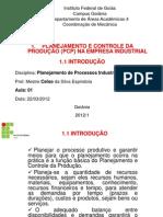 1.1 PCP - Introdução