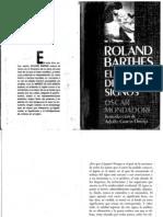Roland Barthes El imperio de los Signos