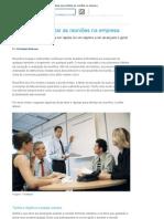 5 dicas para otimizar as reuniões na empresa