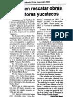 Se deben rescatar obras de autores yucatecos