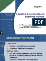 Chap04-Adjusting the Accounts