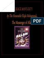 The Black Man's Duty By The Honorable Elijah Muhammad