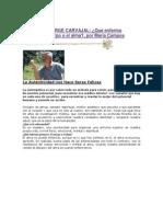 Entrevista a Jorge Carvajal