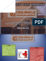 Presentación Ceramica Guadalquivir