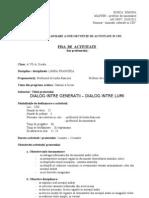 Fisa de Activitate Pentru CDI - Limba franceza