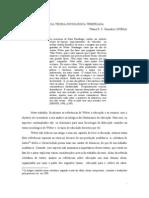 A EDUCAÇÃO À LUZ DA TEORIA SOCIOLÓGICA WEBERIANA