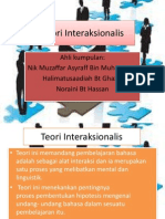 Teori Interaksionalis