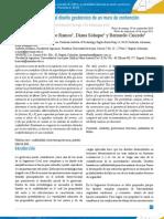 Prada (2011) Confiabilidad aplicada al diseño geotécnico de un muro de contención