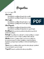 Mathematical Properties