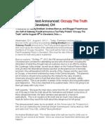 Occupy the Truth Press Release PDF