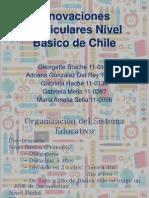 Innovaciones Curriculares Nivel Basico de Chile