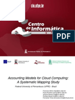 Accounting Models for Cloud Computing a Systematic Mapping Study