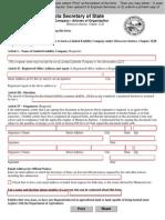 Minnesota LLC Articles of Organization