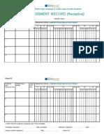 Form 12 - Car Bsl601 - Receptive 0