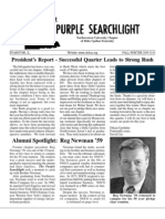 Delta Upsilon Northwestern Chapter | Purple Searchlight | Winter 2010