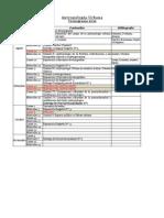 Cronograma URBANA 2012