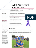 halt newsletter august 2012