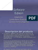 Software Edison gustavo zamora