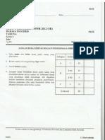 English Trial Paper 2 Pahang 2012