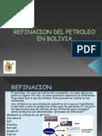 Refinacion Del Petroleo en Bolivia